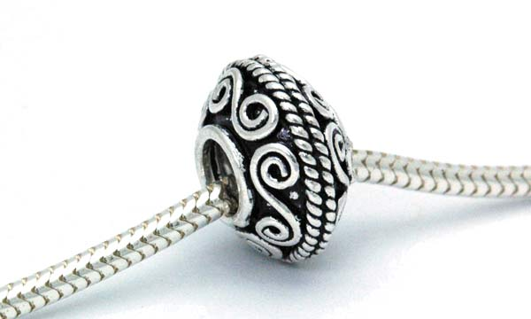 Sterling Charm Beads