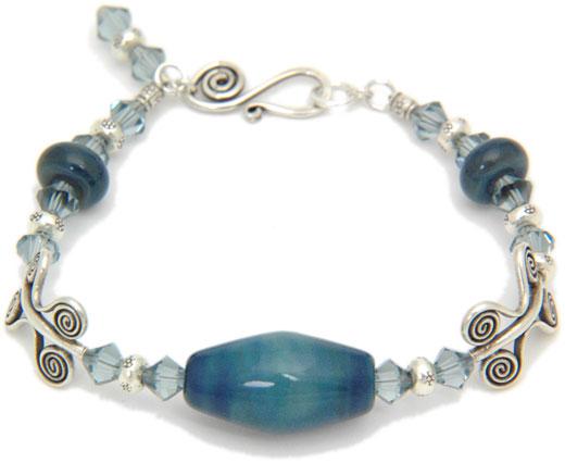 Picasso Bead Bracelet